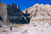 Cyclist at Badlands National Park in South Dakota - 13 - 72 ppi