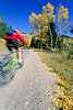 Biker on Gros Ventre Road Teton Nat'l Forest near Grand Teton Nat'l Park - rename 3 - 72 ppi