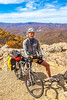 TransAm & Bike Route 76 riders on Blue Ridge Parkway, VA - C2-0118 - 72 ppi