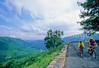 Cyclists on Skyline Drive in Shenandoah National Park, Virginia - 21 - 72 dpi