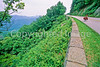 Cyclist at Irish Gap on Blue Ridge Parkway in Virginia - 21 - 72 dpi