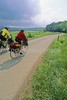 B tn cadescove 33 - ORps - 72 dpi - Touring cyclists in Cades Cove in Great Smoky Mountains National Park on the Tennessee-North Carolina border