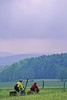 B tn cadescove 13 - ORps - 72 dpi - Touring cyclists in Cades Cove in Great Smoky Mountains National Park on the Tennessee-North Carolina border
