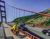 Touring cyclist on Golden Gate Bridge, California - 11-Edit - 72 ppi-2