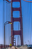 Touring cyclist on Golden Gate Bridge, California - 2-Edit - 72 ppi-2