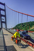 Touring cyclist on Golden Gate Bridge, California - 11-Edit - 72 ppi-3