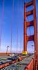 Biker commuting across Golden Gate Bridge in California - 5-Edit - 72 ppi