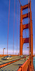 Biker commuting across Golden Gate Bridge in California - 13-Edit - 72 ppi