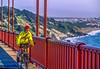 Biker commuting across Golden Gate Bridge in California - 10-Edit - 72 ppi_