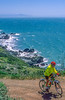 Mountain biker above Slide Ranch in Golden Gate National Recreation Area in California - 7-Edit - 72 ppi-3