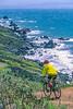 Mountain biker above Slide Ranch in Golden Gate National Recreation Area in California - 3-Edit - 72 ppi