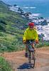 Mountain biker above Slide Ranch in Golden Gate National Recreation Area in California - 1-Edit - 72 ppi