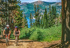 Mountain bikers on Nevada's Flume Trail at Lake Tahoe - 8 - 72 ppi - final