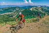 Mountain bikers on Nevada's Flume Trail at Lake Tahoe - 5 - 72 ppi - final