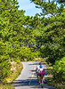 Biker(s) near Race Point Beach in Cape Cod Nat'l Seashore, MA - C1 -0187 - 72 ppi