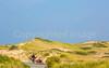 Biker near Race Point Beach in Cape Cod Nat'l Seashore, MA - C3-015222 - 72 ppi