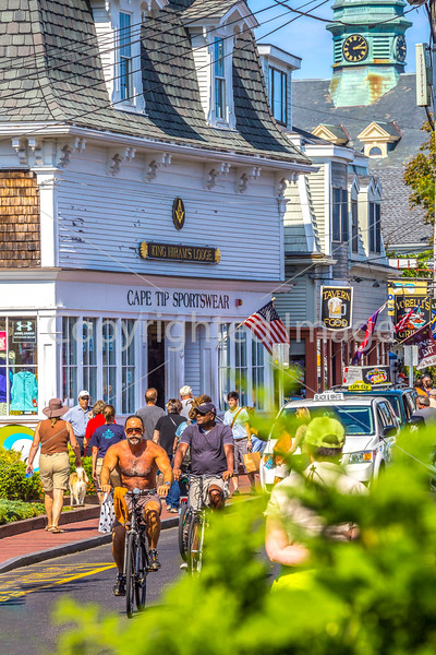 A busy Saturday in Cape Cod's Provincetown, MA - C1-0259 - 72 ppi