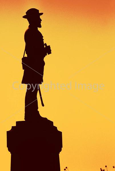 Civil War statue, Antietam Battlefield, Maryland -6 - 72 ppi