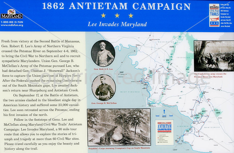 Antietam campaign historical sign-D23C3--0077 - 72 ppi