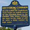 First of scores of signs along Lee's retreat route from Gettysburg-0014 - 72 ppi