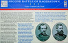 Historical signs on Confederate retreat through Hagerstown, MD-D1C2--0124 - 72 ppi