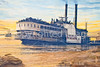 Vicksburg, Mississippi - flood wall mural by Robert Dafford - D3-C3-0029 - 72 ppi