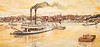 Vicksburg, Mississippi - flood wall mural by Robert Dafford - D3-C3-0013 - 72 ppi