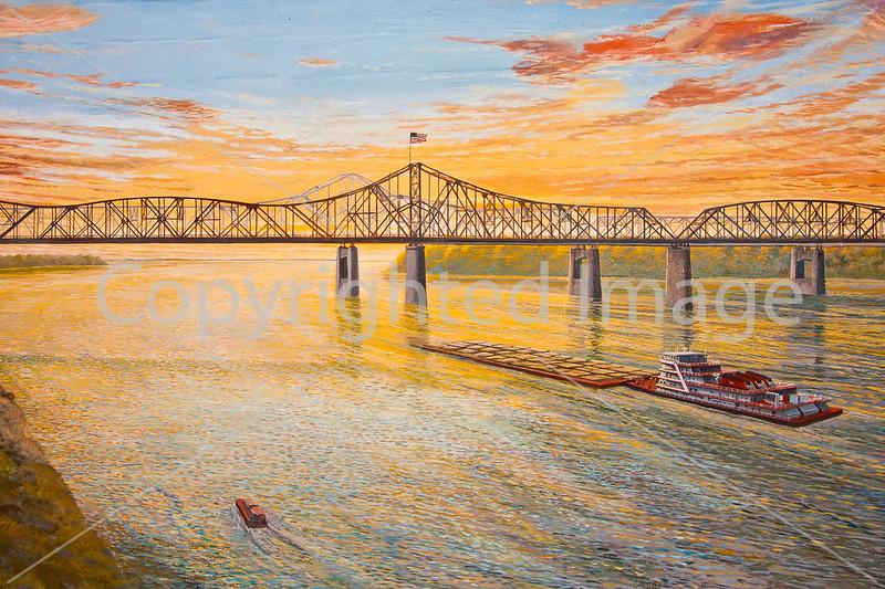 Vicksburg, Mississippi - flood wall mural by Robert Dafford-13 - 72 ppii