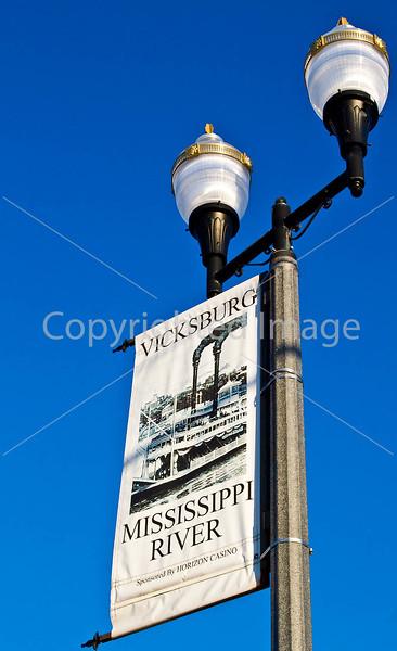 Street banners in Vicksburg, MS - D1-C3- - 72 ppi
