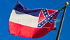 Mississippi state flag in Vicksburg, MS - D1-C3-0050 - 72 ppi