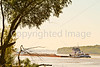 Barge traffic on the Mississippi near Grand Gulf Military Park, MS - D5 -C1-0063 - #3 - 72 ppi