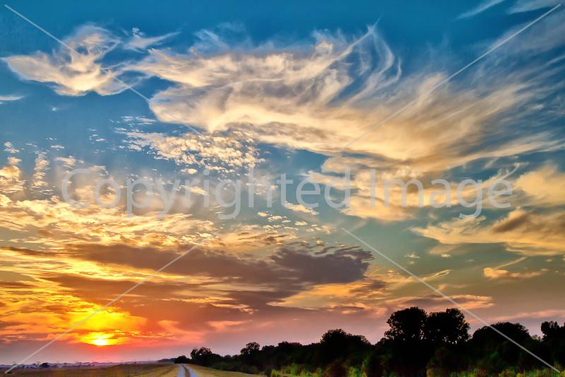 Sundown near Grant's Canal in Louisiana - D1-C3- - 72 ppi-5