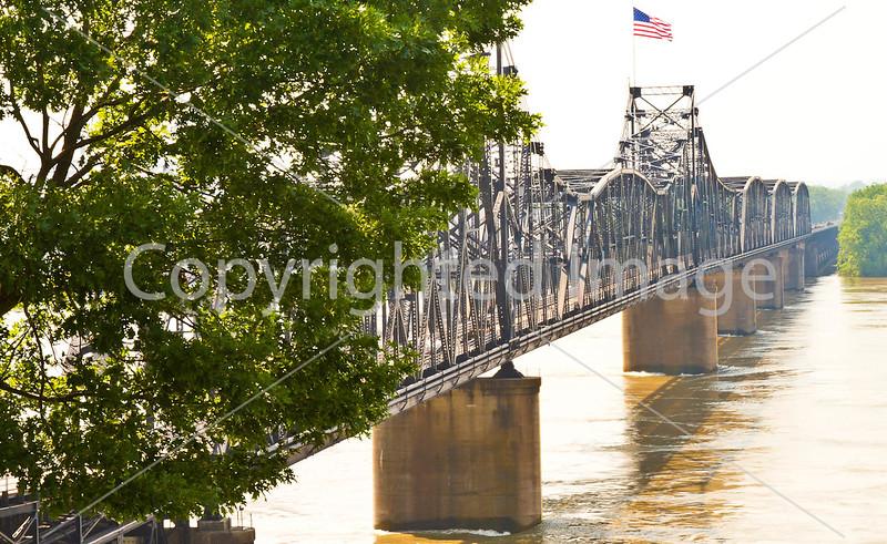 Interstate 20 bridge over the Mississippi at Vicksburg, MS - D1-C3-0216 - 72 ppi