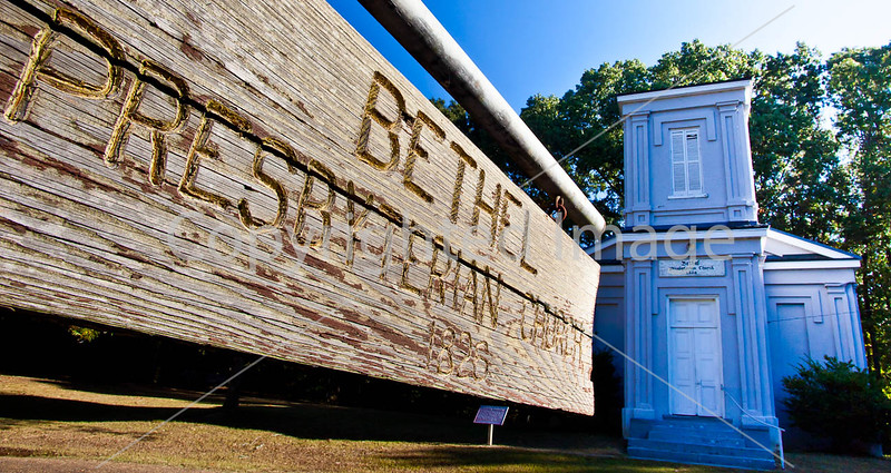 Bethel Church on Grant's 1863 route to Port Gibson, Mississippi - D6 - C2-0023 - 72 ppi