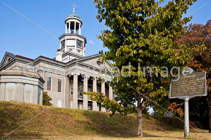 Old Courthouse in Vicksburg, MS - D3-C2-0035 - 72 ppi