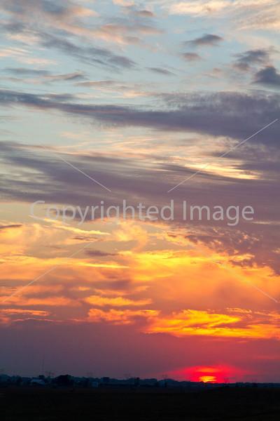 Sundown near Grant's Canal in Louisiana - D1-C3-0385 - 72 ppi
