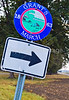 Route sign on Louisiana side of Grant's campaign route to Vicksburg,  MS - D3-C3-0087 - 72 ppi