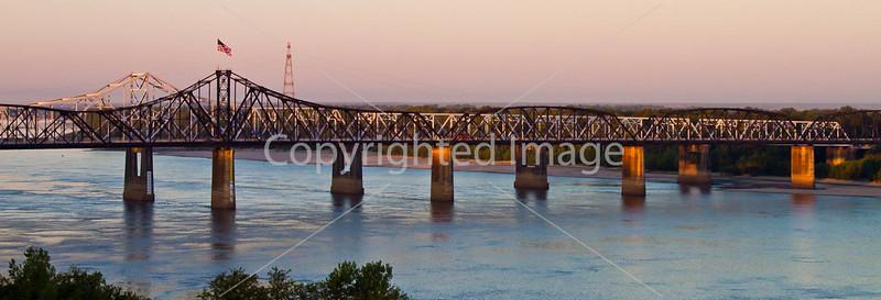 Interstate 20 bridge over the Mississippi River at Vicksburg, MS - D1-C3-0012 - 72 ppi