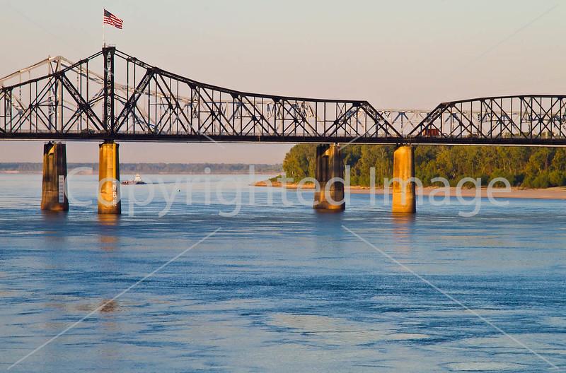 Interstate 20 bridge over the Mississippi River at Vicksburg, MS - D1-C3-0016 - 72 ppi