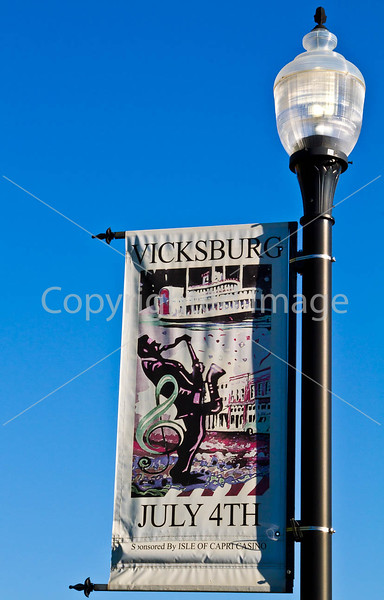 Street banners in Vicksburg, MS - D1-C3-0035 - 72 ppi