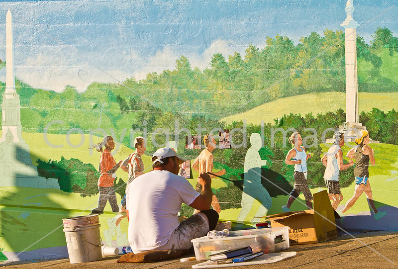 Mural painting in downtown Vicksburg, MS - D4-C1-0040 - 72 ppi