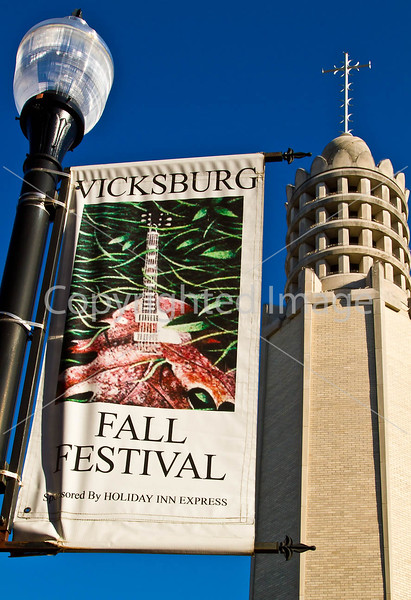 Street banners in Vicksburg, MS - D1-C3-0058 - 72 ppi