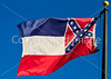 Mississippi state flag in Vicksburg, MS - D1-C3-0048 - 72 ppi
