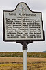 Historical marker along Grant's March route in Louisiana - D4-C3-0070 - 72 ppi