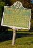 Chickasaw Bayou Batte sign near Vicksburg, Mississippi - D4-C3-0127 - 72 ppi