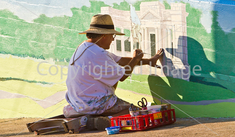 Mural painting in downtown Vicksburg, MS - D4-C1-0033 - 72 ppi
