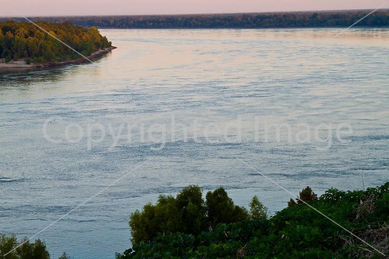 Mississippi River at I-20 bridge from Vicksburg, MS, to Louisiana D1-C3 0008 - 72 ppi