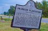 Historical markers on Louisiana side of Grant's campaign route to Vicksburg,  MS - D3-C3-0089 - 72 ppi