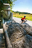 Cyclist at Gettysburg National Military Park, Pennsylvania-M3-0759 - 72 ppi