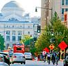 Cyclists near Ford's Theatre in Washington, DC - 72 dpi -1417